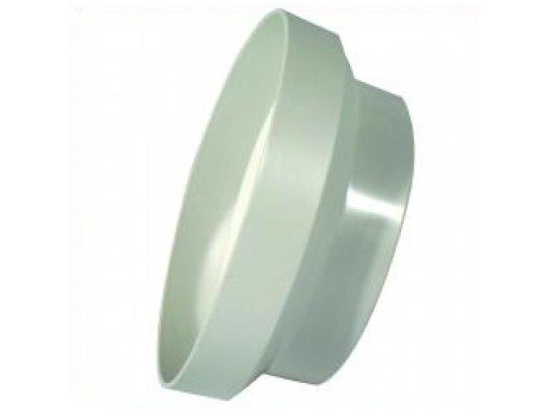 Vents Reduzierstück, 150 mm auf 125 mm, PVC, weiss