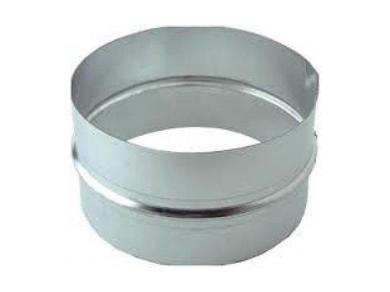 Verbindungsstück, Muffe, Metall, verschiedene Durchmesser