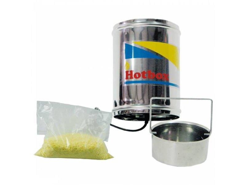 Hotbox Schwefel Vaporisator, inkl. 500 g Schwefel im Beutel