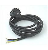 Netzstecker mit flexiblem Feuchtraumkabel, 0,75 mm²