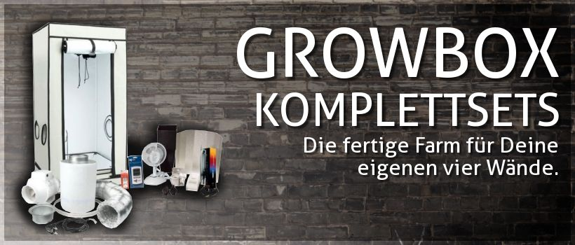 Indoor Growing Komplett-Sets