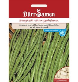Dürr Samen Stangenbohnen  Spaghetti-Bohne