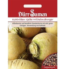 Dürr Samen Kohlrabi Erdkohlraben Wilhelmsburger