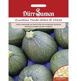 Dürr Samen Zucchini Tondo chiaro di Nizza