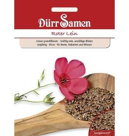 Dürr Samen Bunter Lein Roter Lein, einjährig, 45cm