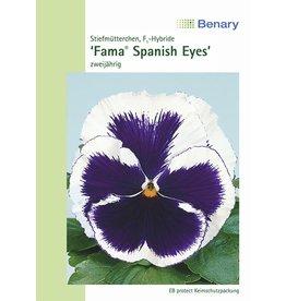 Benary Stiefmütterchen Fama® Spanish Eyes, zweijährig