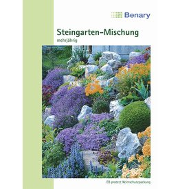 Benary Blumenmischung Steingarten-Mischung, winterhart, einjährig