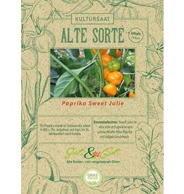Saat & Gut BIO-Paprika Sweet Julie
