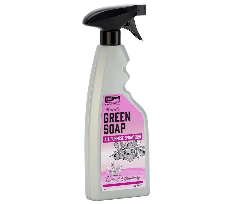 Spray Tout Usage Patchouli & Canneberge (500ml)
