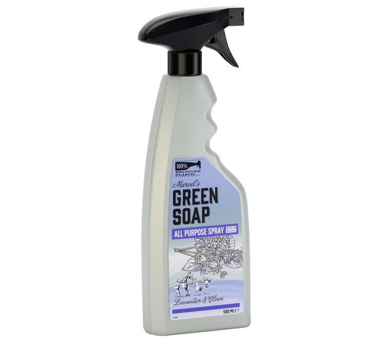 Allesreiniger- Spray Lavendel & Nelken (500 ml),