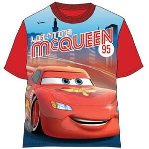 Cars Disney T-shirt Rood