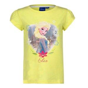 Frozen Disney Elsa t-shirt Geel