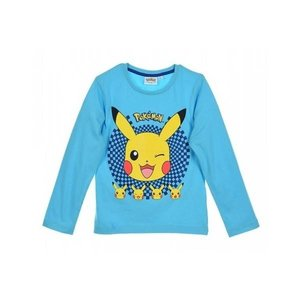 Pok̩mon Pok̩mon Child T-shirt long sleeve - Lichtblauw