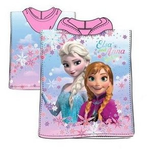 Frozen Handdoek cape Meiden roze