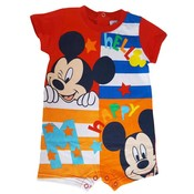 Mickey Mouse Disney romper baby Rood