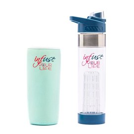 Waterfles Infuse your Life - Original Blue