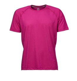 Tee Jays Cool Dry Tee Bright Fuchsia