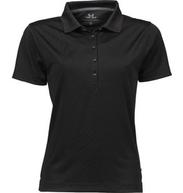 Tee Jays Ladies Performance Polo Sport Black