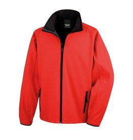 Soft Shell Men Red Black