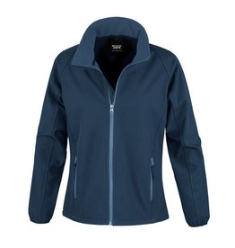 Soft Shell Ladies Navy Navy