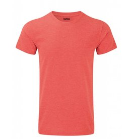 WOW sportswear Men WOW Tee Red Marl