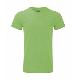 WOW sportswear Men WOW Tee Green Marl