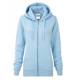 Ladies' Authentic Zipped Hood Classic Sky