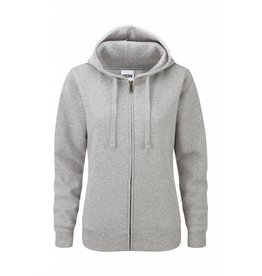Ladies' Authentic Zipped Hood Classic Light Oxford