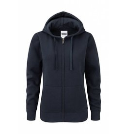 Ladies' Authentic Zipped Hood French Navy