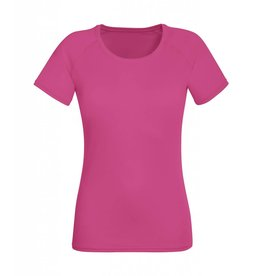 Lady Fit Performance T Fuchsia