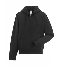 Authentic Zipped Hood Classic Black