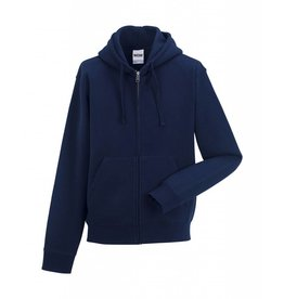 Authentic Zipped Hood Classic French Navy