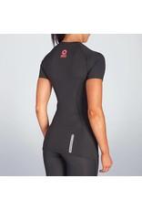 Zero Point Compressie Shirt Zwart vrouw, let op o.b.v. beschikbaarheid