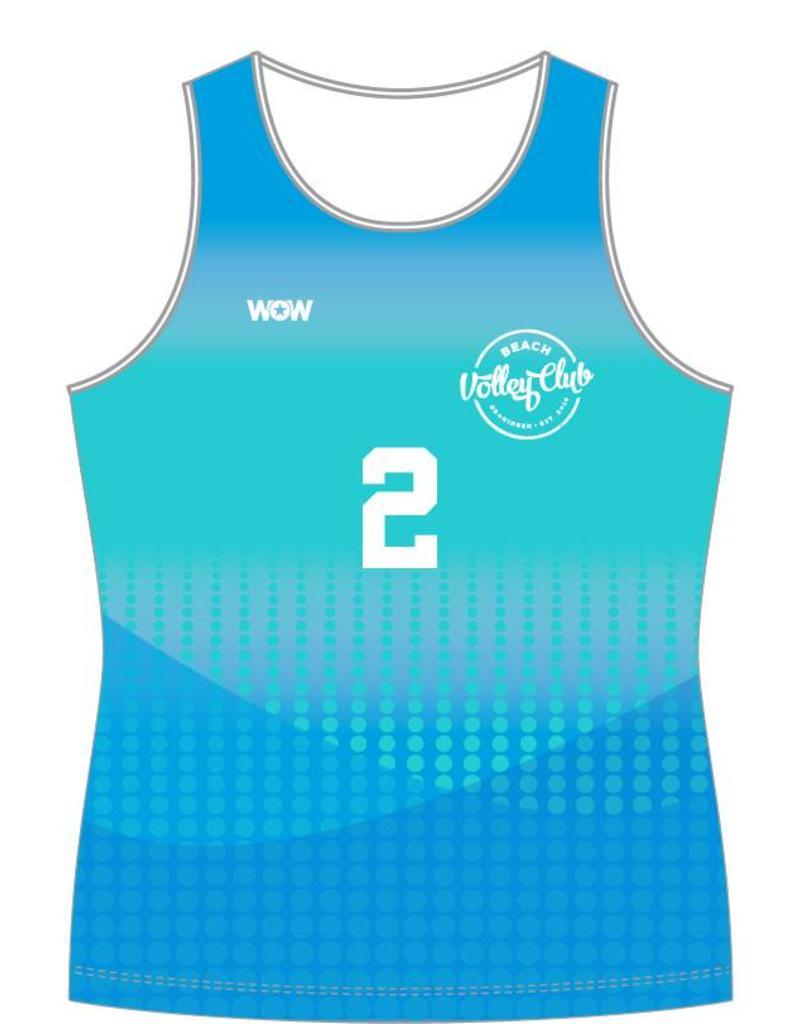WOW sportswear Beachhemdje Dames