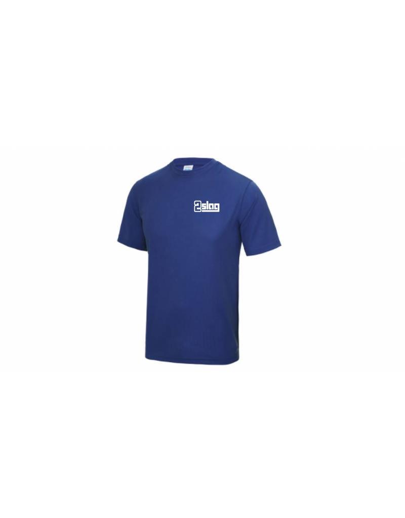 WOW sportswear Heren Sportshirt 2Slag met clublogo en borstnaam
