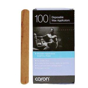 Caronlab Houten spatel klein 10 x 115 mm 100 st.
