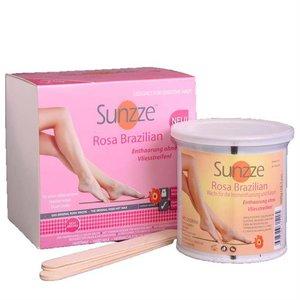 Sunzze Brazilian Hot wax ROSA 800 ml