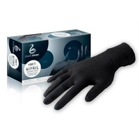 Care Integral Zwarte handschoenen, 100 st, maat: S,M,L,XL