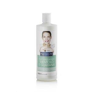 PREMIUM Massage olie met mentol & guarana 500 ml