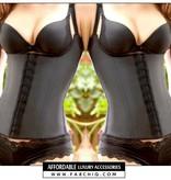 FABCHIQ Latex Waist Trainer Vest (BH Straps)