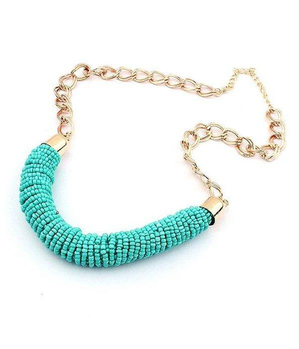 "Bohemian ""Ocean"" Necklace"