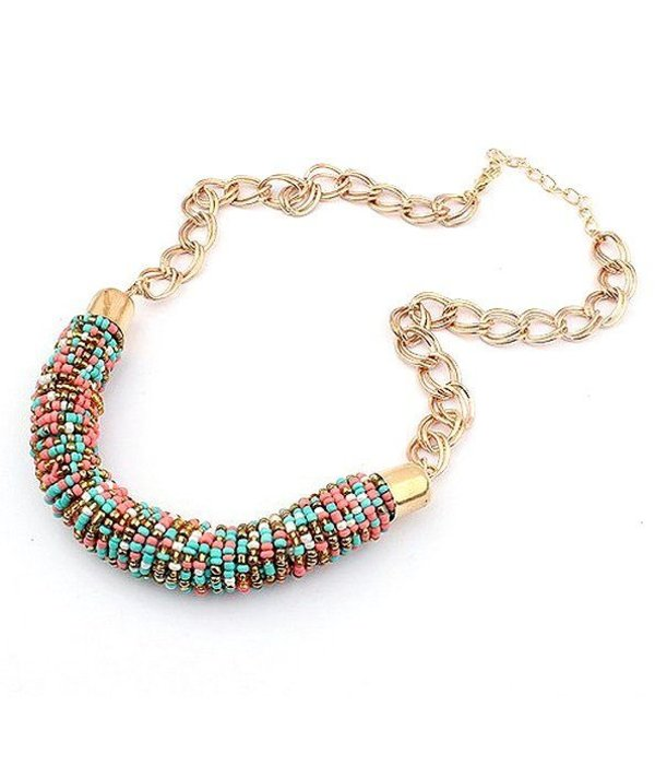 "Bohemian ""Rainbow"" Necklace"