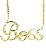 """Boss"" Necklace"