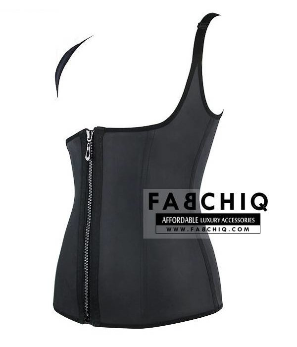 Latex Sport Waist Trainer Vest (Zipper)