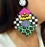 Kayla Leaf Earrings