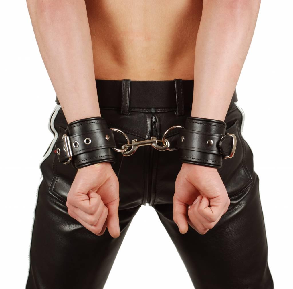 RoB Leather Wrist Restaints Black