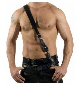 RoB Sam Brown Black Leather