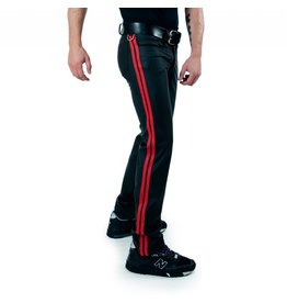 RoB F-Wear Full Zip Jeans, Double Red Stripes