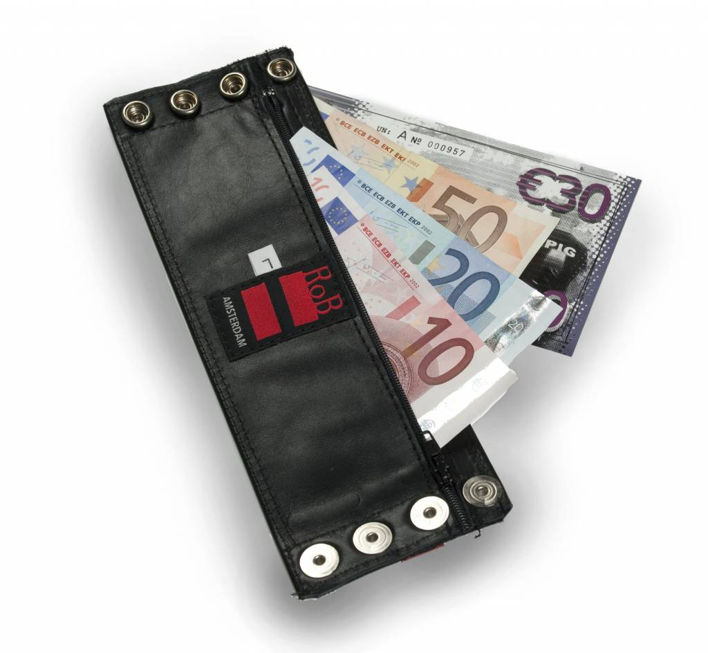 RoB Leather Wrist Wallet