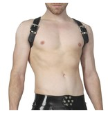 RoB Shoulder Harness black with black Piping